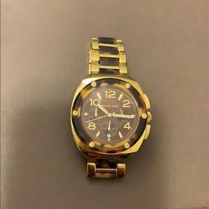 MK Tribeca Tortoise Chronograph Mk5593 watch